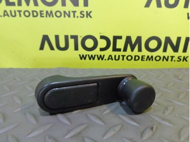 Window regulator handle  - Peugeot 307 2004 SW 2.0 HDi 66 kW