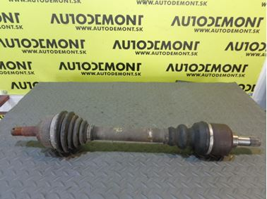 Front left axle shaft  - Peugeot 307 2004 SW 2.0 HDi 66 kW