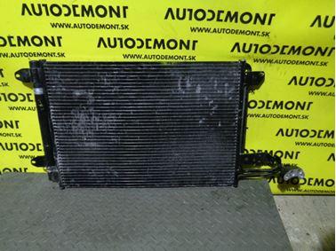 1K0820411Q 1K0820411AH - Air conditioning condenser - Škoda Octavia II 2009 - 2013