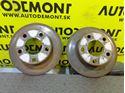 4B0 4B 4A0615601A - Rear brake discs - Audi 100 1991 - 1994 A6 1995 - 2005 VW Passat 1997 - 2005 Škoda Superb 2002 - 2008