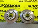 8E0615601Q - Rear brake discs - Audi A4 2001 - 2008 A4 Cabriolet 2003 - 2009 Seat Exeo/ST 2009 - 2014