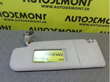 3B0857551R 3B0857551AM - Left sun visor - VW Škoda Seat