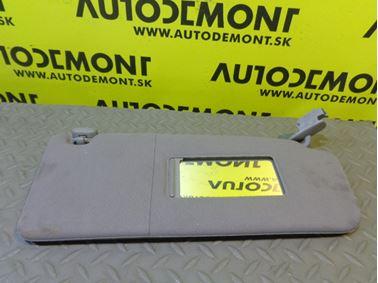 4B0857552 4B0857552A 4B0857552E - Right sun visor - Audi