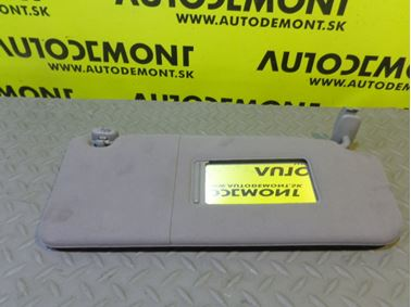 4B0857552 4B0857552A 4B0857552E - Right sun visor - Audi