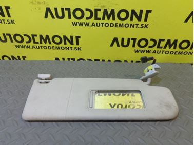 3B0857552R 3B0857552AK - Right sun visor - VW Škoda Seat