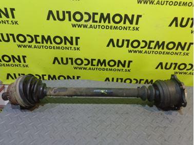 Front left axle shaft 8D0407271DT 8D0407451LX - Volkswagen VW Passat B5.5 3B 2001 Variant 2.5 Tdi 110 kW AKN FRF