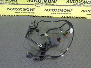 Rear Left Door Wiring Harness 4F1971687A 4F1971687N - Audi A6 C6 4F 2005 Limousine Quattro 3.0 TDI 165 kW BMK GZW