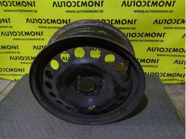 """- Steel wheel 15"""" 6Jx15H2 ET49 4/100"""