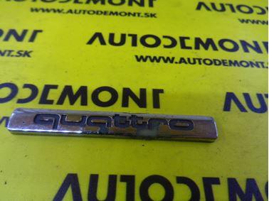 4B0853737D - Emblem & Badge Quattro