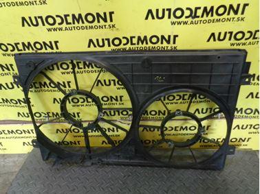 Fan holder & bracket 1K0121207T - Skoda Octavia 2 1Z 2007 Limousine 1.9 Tdi 77 kW BXE JCR