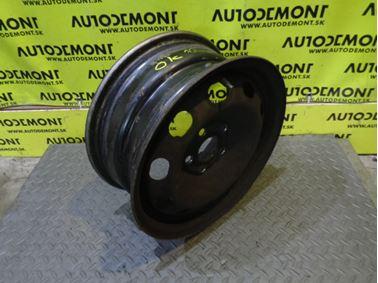 "Steel wheel 14"" 6Jx14H2 ET38 1J0601027P - Skoda Octavia 1 1U 2002 Combi 1.9 SDI 50 kW AQM DUS"