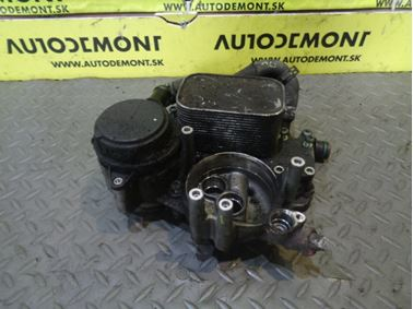Oil cooler 059117021J 059117021H 059115397AC - Audi A6 C6 4F 2006 Avant Quattro 3.0 TDI 165 kW BMK HKG