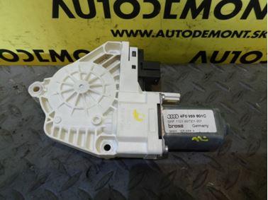 Rear left window regulator motor 4F0959801C - Audi A6 C6 4F 2006 Avant Quattro 3.0 TDI 165 kW BMK HXN