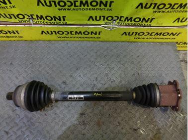 Left axle shaft 4F0407271J - Audi A6 C6 4F 2006 Avant Quattro S - Line 3.0 TDI 165 kW BMK HKG