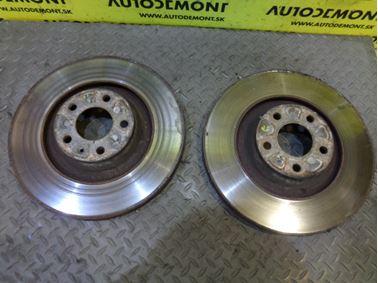 Front brake discs 4F0615301G - Audi A6 C6 4F 2006 Avant Quattro S - Line 3.0 TDI 165 kW BMK HKG