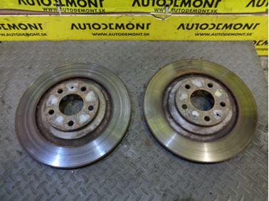 Rear brake discs 4F0615601F - Audi A6 C6 4F 2006 Avant Quattro S - Line 3.0 TDI 165 kW BMK HKG