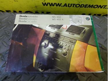 - Skoda Car radio MS 402 MS 402A