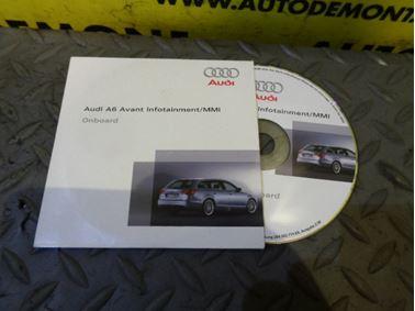4F0 4F - CD´s Infotainment - MMI - Audi A6 2005 - 2011