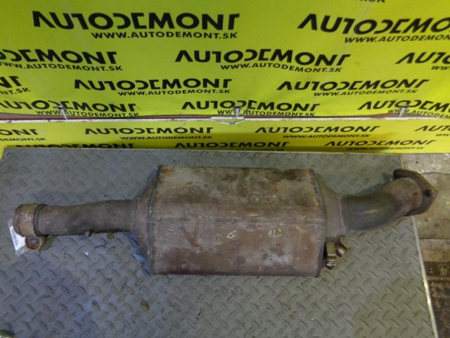 diesel particulate filter (dpf) 4f0254800x 4f0131701bn - audi a6 c6