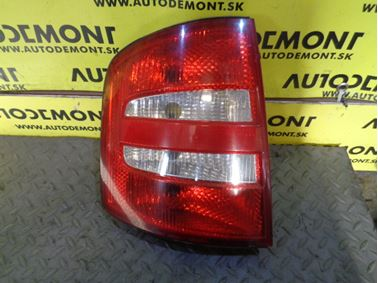Left tail light 6Y9945095B 6Y9945111B - Skoda Fabia 1 6Y 2002 Combi 1.9 Sdi 47 kW ASY