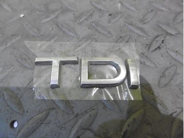 - Emblem & Badge Tdi