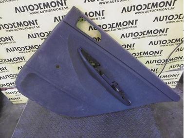 Rear right door trim panel 6Y9867212E - Skoda Fabia 1 6Y 2002 Combi 1.9 Sdi 47 kW ASY FCX