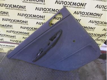 Rear left door trim panel 6Y9867211E - Skoda Fabia 1 6Y 2002 Combi 1.9 Sdi 47 kW ASY FCX
