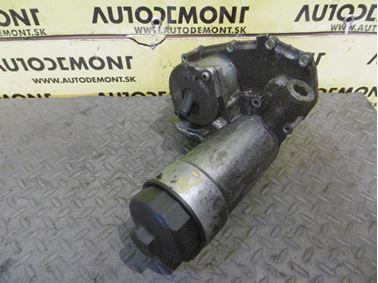 Oil filter bracket 059115405G 059115405F - Audi A6 C5 4B 2003 Allroad Avant Quattro 2.5 TDI 132 kW AKE EYJ