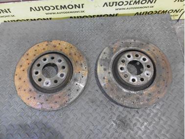 Front Brake Rotors & Discs 8E0615301AD 4B0 4B - Audi A6 C5 4B 2003 Allroad Avant Quattro 2.5 TDI 132 kW AKE EYJ