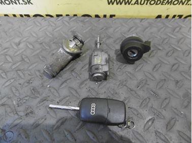 Locks & Key 4Z7 4Z 4D0837231K 4B1837063 - Audi A6 C5 4B 2003 Allroad Avant Quattro 2.5 TDI 132 kW AKE EYJ