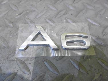 Emblem & Badge A6 4F0853741 - Audi A6 C6 4F 2008 Avant Quattro S - Line 3.0 Tdi 171 kW ASB KGX