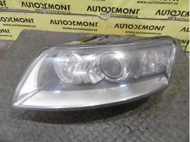 Left headlight 4F0941003AK 4E0941471 4F0941293A 1K6953123D 5DD008319-50 - Audi A6 C6 4F 2008 Avant Quattro S - Line 3.0 Tdi 171 kW ASB KGX