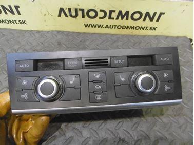 Climate control unit 4F1820043AG 4F0910043A - Audi A6 C6 4F 2008 Avant Quattro S - Line 3.0 Tdi 171 kW ASB KGX
