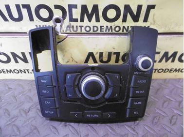 Operating unit for multimedia system MMI 4F1919611M 4F0910609E - Audi A6 C6 4F 2008 Avant Quattro S - Line 3.0 Tdi 171 kW ASB KGX