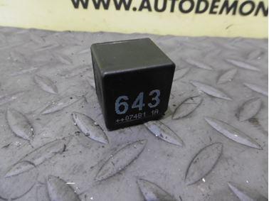 Relay 8K0951253 643 - Audi A6 C6 4F 2008 Avant Quattro S - Line 3.0 Tdi 171 kW ASB KGX