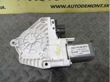 Front left window regulator motor 4F0959801D - Audi A6 C6 4F 2008 Avant Quattro S - Line 3.0 Tdi 171 kW ASB KGX