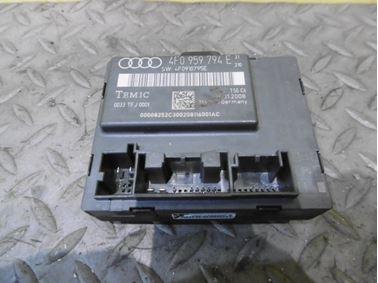 Door Control Unit Module 4F0959794E 4F0910795E - Audi A6 C6 4F 2008 Avant Quattro S - Line 3.0 Tdi 171 kW ASB KGX