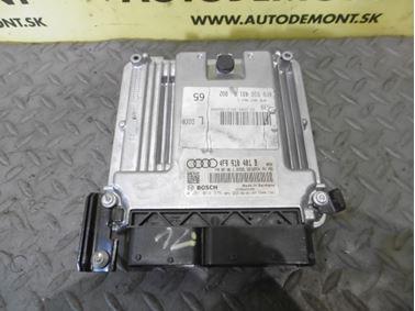Engine control unit 4F0907401C 4F9910401B 0281014376 - Audi A6 C6 4F 2008 Avant Quattro S - Line 3.0 Tdi 171 kW ASB KGX