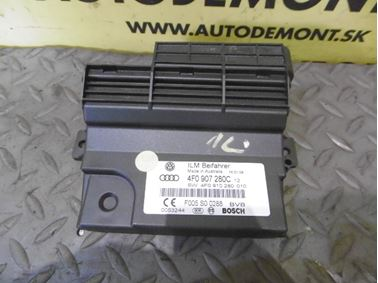 On board power supply control unit 4F0907280C 4F0910280 - Audi A6 C6 4F 2008 Avant Quattro S - Line 3.0 Tdi 171 kW ASB KGX