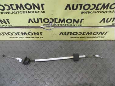 Right & Left Front Door Lock Bowden Cable 4F0837085A - Audi A6 C6 4F 2008 Avant Quattro S - Line 3.0 Tdi 171 kW ASB KGX