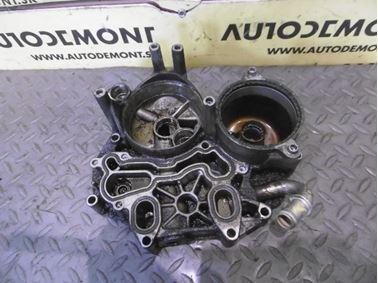 Oil filter bracket 059115397L - Audi A6 C6 4F 2008 Avant Quattro S - Line 3.0 Tdi 171 kW ASB KGX