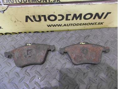 Front brake pads 4F0698151D - Audi A6 C6 4F 2008 Avant Quattro S - Line 3.0 Tdi 171 kW ASB KGX
