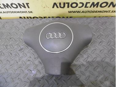 8E0880201S - Driver airbag - Audi A2 2000 - 2005 A3 2001 - 2007 A4 2001 - 2005 A4 Cabriolet 2003 - 2006 A6 2002 - 2005 A6 Allroad 2000 - 2005 A8 1999 - 2003