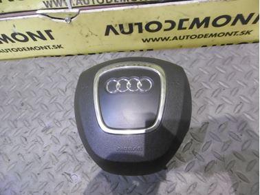 Driver airbag 4F0880201AS - Audi A6 C6 4F 2006 Avant Quattro 3.0 TDI 165 kW BMK HVE