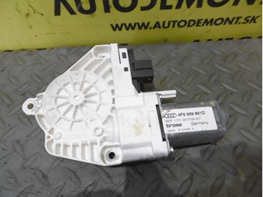 Front left window regulator motor 4F0959801D - Audi A6 C6 4F 2006 Avant Quattro 3.0 TDI 165 kW BMK HVE