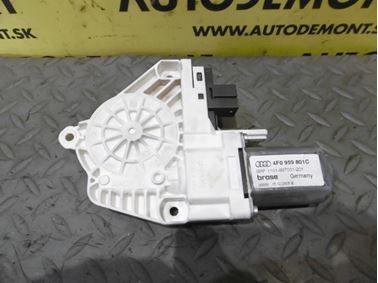 Rear left window regulator motor 4F0959801C - Audi A6 C6 4F 2006 Avant Quattro 3.0 TDI 165 kW BMK HVE