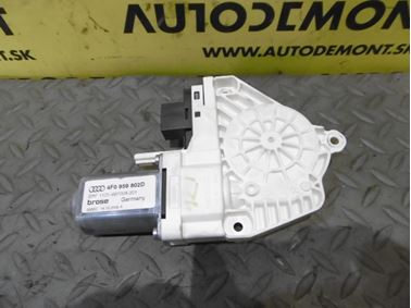 Front right window regulator motor 4F0959802D - Audi A6 C6 4F 2006 Avant Quattro 3.0 TDI 165 kW BMK HVE