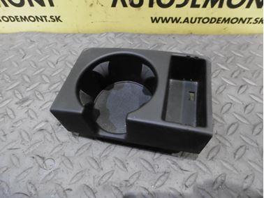 Glass holder 4F1862534B 4F1862534F - Audi A6 C6 4F 2006 Avant Quattro 3.0 TDI 165 kW BMK HVE