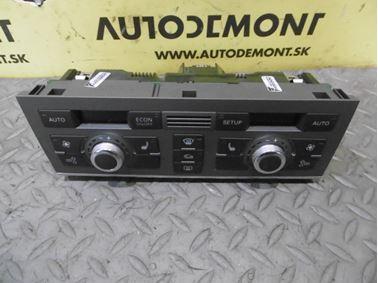 Climate control unit 4F1820043S 4F0910043 - Audi A6 C6 4F 2006 Avant Quattro 3.0 TDI 165 kW BMK HVE