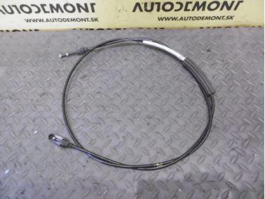 Front hood lock cable 4F1823531B 4F1823531A - Audi A6 C6 4F 2006 Avant Quattro 3.0 TDI 165 kW BMK HVE